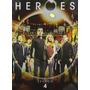 Heroes Cuarta Temporada 4 Cuatro Importada , Serie Tv En Dvd