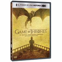 Game Of Thrones Quinta Temporada 5 Cinco , Serie Tv En Dvd