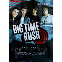 Big Time Rush, Temporada 2 Dos, Volumen 1 Uno, Serie Tv, Dvd