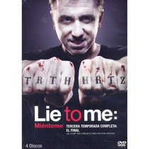 Lie To Me Mienteme Paquete Temporadas 1 2 3 Discos En Dvd