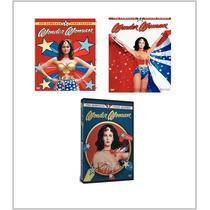 Las Aventuras De La Mujer Maravilla Temporadas 1,2,3 En Dvd.