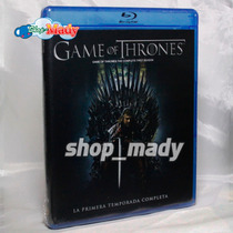 Game Of Thrones - Primera Temporada Completa Set De 5 Bluray