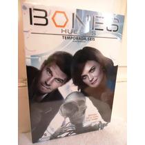Bones, Huesos Temporada 6, Seis En Formato Dvd