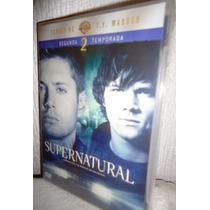 Supernatural Temporada 2, Dos Serie De Tv En Formato Dvd