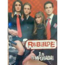 Boxset Rbd Rebelde 1atemporada 100% Original Envio Inmediato