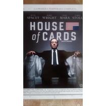 Dvd House Of Cards Primera Temporada