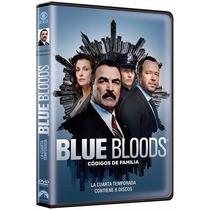 Blue Bloods Codigos De Familia Cuarta Temporada 4 Serie Dvd