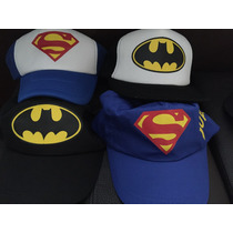 Gorra Batman Superman Comics Iron-man Xmen Spiderman Capitan