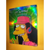 Los Simpsons Temporada 15 Completa Blu-ray 4 Discos