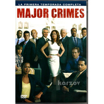 Major Crimes, La Primera Temporada Completa, Serie Tv, Dvd