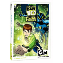 Ben 10: Alien Force Volumen 4 Dvd