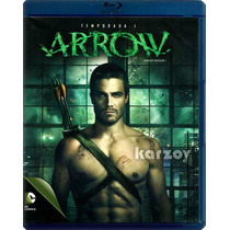 Arrow Temporada 1 Uno, Serie Tv Warner Oliver Queen, Blu-ray