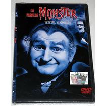 La Familia Monster Tercera Temporada Completa En Dvd! Nueva!