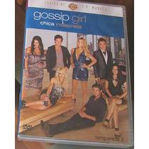 Gossip Girl (chica Indiscreta) Tercera Temporada 3 5 Dvds