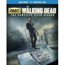 The Walking Dead Temporada 5 Cinco Serie Tv Blu-ray + Dig Hd
