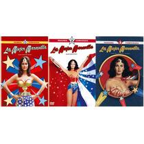 La Mujer Maravilla Paquete De Temporadas 1 2 3 En Dvd