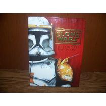 Star Wars Clone Wars Dvd Primera Temporada 1 Guerras Clonica