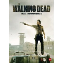 The Walking Dead Tercera Temporada 3 En Dvd Lbf