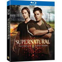Supernatural Temporada 8 ( Octava ) Serie Warner, Bluray Lbf