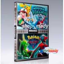Pokemon 5 Héroes Y Pokemón 6 Alma Gemela 1 Dvd Región 1 Y 4
