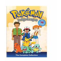 Pokemon Indigo League , Coleccion Completa , Serie Tv En Dvd