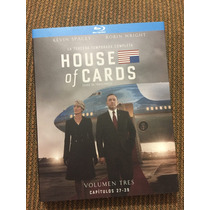 House Of Cards Kevin Spacey Robin Wright Bluray Netflix Vol3