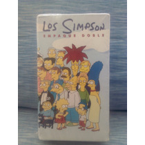 Pelicula Vhs Serie Los Simpson Homer, Marge, Bart,lisa