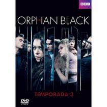Orphan Black Tercera Temporada 3 Tres , Serie De Tv En Dvd
