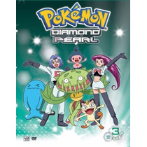 Pokemon Diamond And Pearl Set 3 Vol 5 Y 6 Importado Dvd