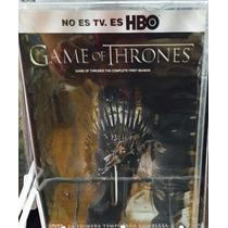 Game Of Thrones Temporada 1 Juego De Tronos. Dvd. Nueva