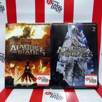 Ataque A Los Titanes - Shingeki No Kyojin 2 Boxset Dvd Anime