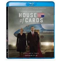 House Of Cards Temporada 3 ( Tercera ) En Bluray