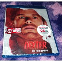 Dexter - Quinta Temporada Bluray Importado Usa Hm4