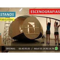 Renta Y Venta De Stands, Fabricación De Escenografias, Df