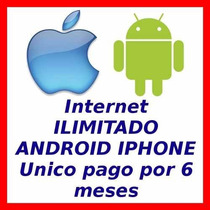 Internet Telcel Movistar Gratis Android Iphone Ilimitado Gsm