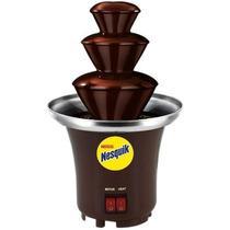 Mini Fuente De Chocolate Chamoy Queso Nesquik