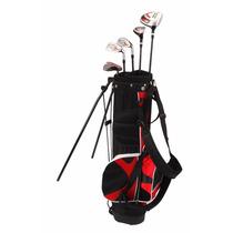 Set De 8 Palos De Golf Nitro Blaster Junior C/ Bolsa Maleta