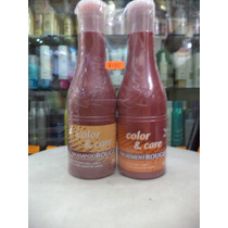 Color Y Care Nefertiti Shampoo Y Tratamiento Rouge 340ml