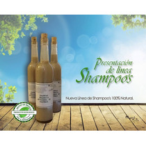 Shampoo, Remedio Natural Para Crecer El Cabello, Anti Caida
