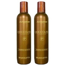 Duo Alfaparf Shampoo Ciocolatto Chocolate Nutricion 2x250ml