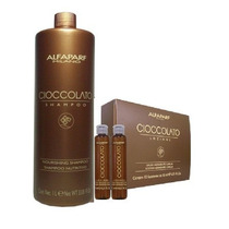 Kit Shampoo 1000 Ml Y 12 Ampolletas De 15ml Cioccolato!!