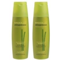 Duo Alfaparf Shampoo Midollo Bamboo Reestructurante 2x250ml