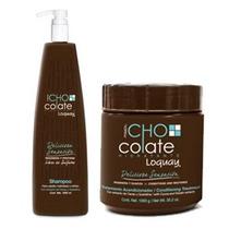 Loquay Kit Tratamiento De Chocolate Shampoo +acondicionador