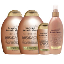 Brazilian Keratin Shampoo Conditioner Masque Terapia