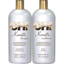 Chi Keratin Shampoo / Conditioner Infra 1 Litro Envio Gratis