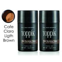 Toppik Duo Pack 12grs Cafe Claro Fibras Capilares