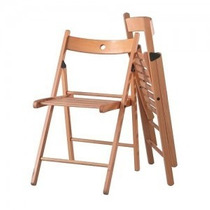 Silla Tiffany Folding Wood 1 La Silla Mas Comoda Y Plegable