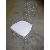 Silla Chiavari Cristal (tiffany Transparente) Royal Table