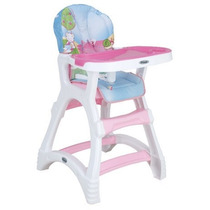 Silla Alta Prinsel Dinner Elite - Cereza Kids