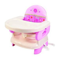 Summer Infant Deluxe Comfort Plegable Asiento Elevador, Rosa